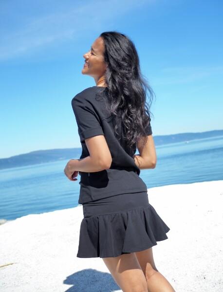 Bilde av Ella&Il - Ginger skirt - Black