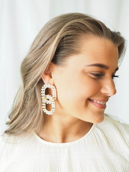 Bilde av Caprice Decadent - Glam Chain Earrings