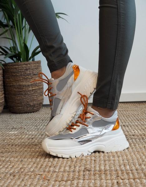 Bilde av Philip Hog - Elina Sneakers - Silver
