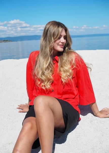 Bilde av Coster - Sporty Light Jacket - Poppy Red
