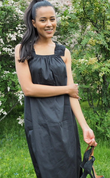 Bilde av Leveté Room - Isla Solid 31 Dress -Black