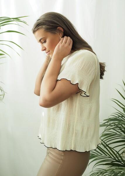 Bilde av Levete Room - Jalina blouse - Antique White