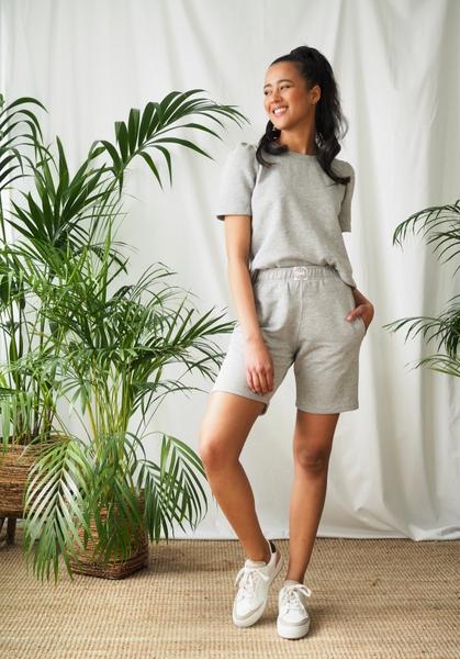 Bilde av Levee Room - Nyttia 1 Shorts - Grey