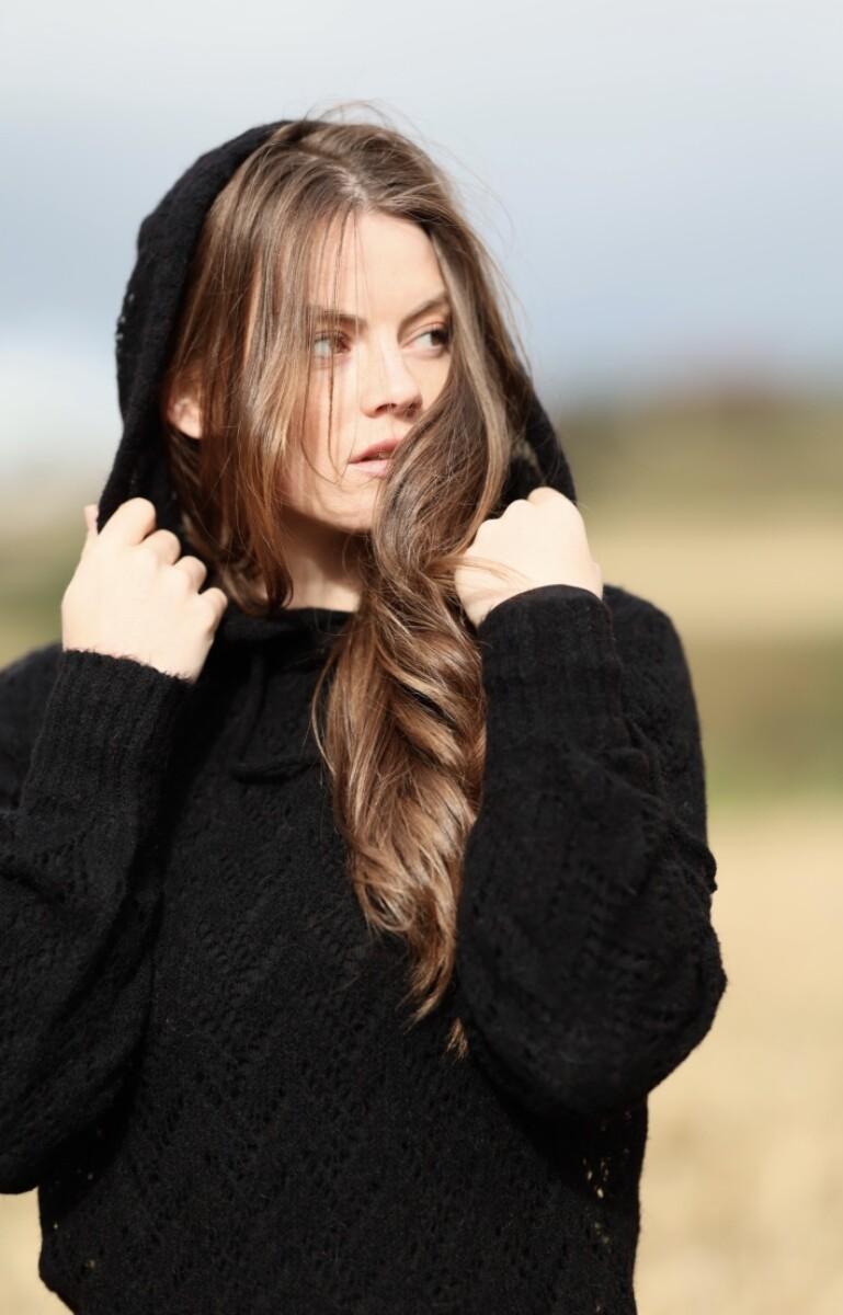 Anna Kamola - Linnea Hoodie - Black