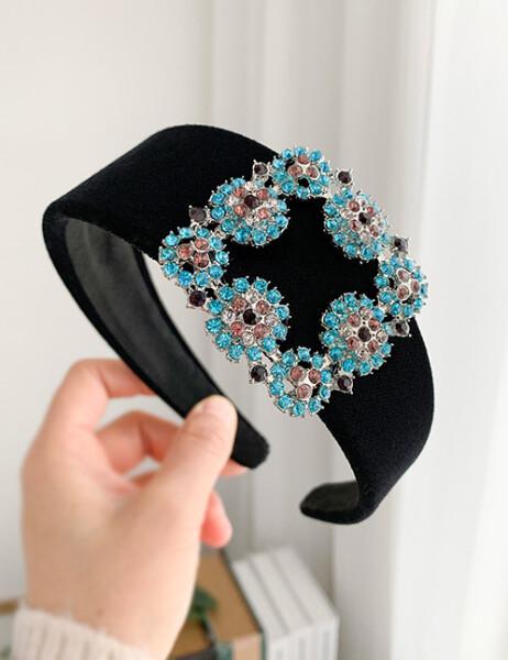 Bilde av Nectar - Cornelia Headband - Turquoise Pink