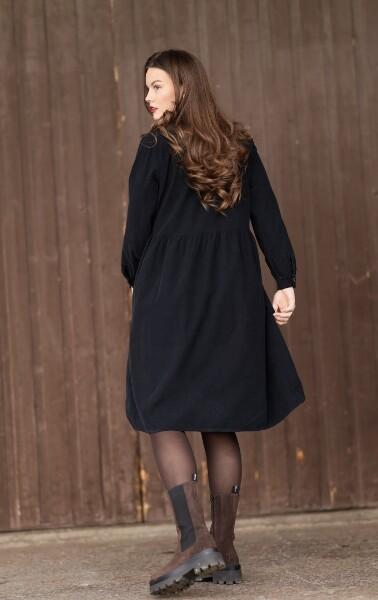 Bilde av Nectar Clothing - Maja Babycord Dress - Black