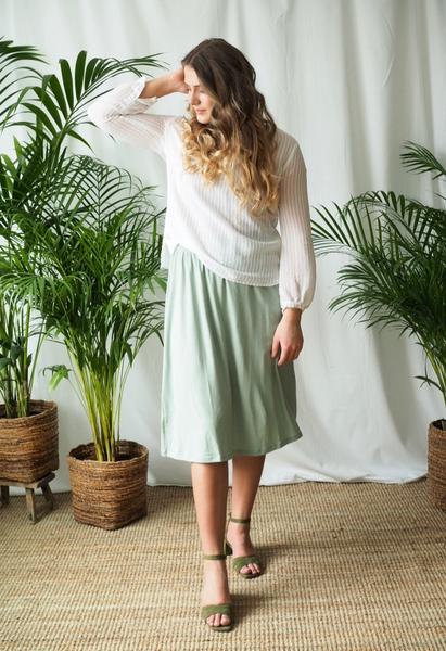 Bilde av Basic Apparel - Joline Skirt - Jadeite