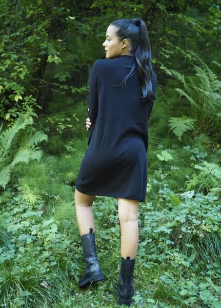 Bilde av Ella&Il - Ellie Wool Dress - Black