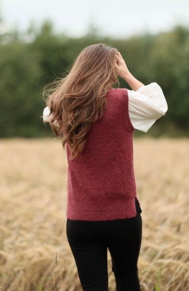 Bilde av Anna Kamola - Connie Vest - Wine Red
