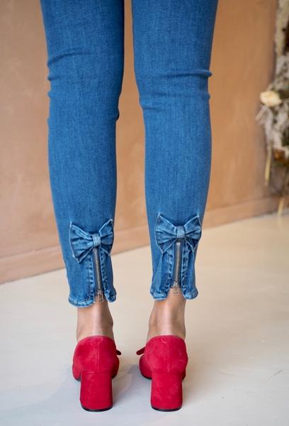 Bilde av Mapp - Bow Jeans - Classic Blue Used