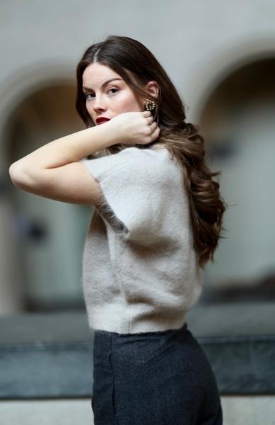 Bilde av Cathrine Hammel - Soft Wide Sleeveless Top - Warm