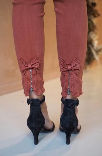 Bilde av Mapp - Bow Twill Trousers - Rust