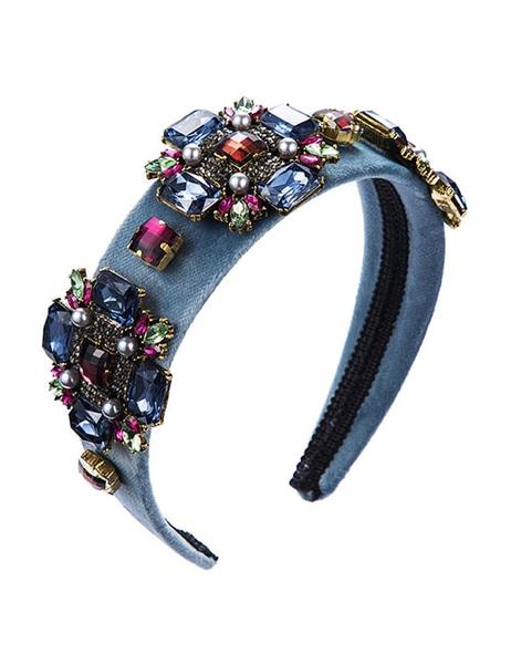 Bilde av Nectar - Art Deco Headband - Dusty Blue