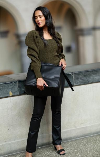 Bilde av Pourchet - Amalie XL Bag - Black
