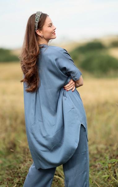 Bilde av Masai - Noalta Dress - Vintage Denim
