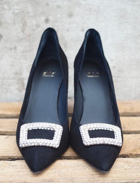 Bilde av Billi Bi - Diamond Heels - Black Suede