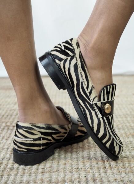 Bilde av Billi Bi - Loafers Zebra