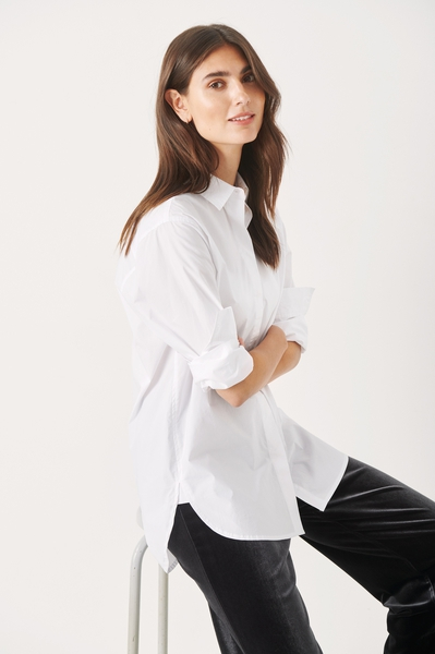 Bilde av Part Two - Leana Shirt - Bright White