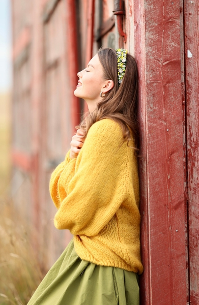 Bilde av Nectar  Clothing - Gea Cardigan - Tuscan Sun