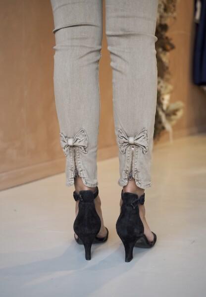 Bilde av Mapp - Bow Twill Trousers - Soft Caramel