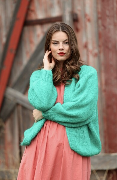 Bilde av Nectar  Clothing - Gea Cardigan - Emerald