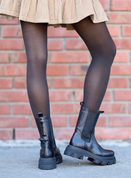 Bilde av Shoe Biz - Uma Vaca Alfa Polido - Black
