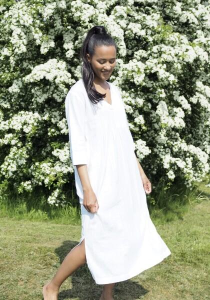 Bilde av Levee Room - Naja 1 Dress - White