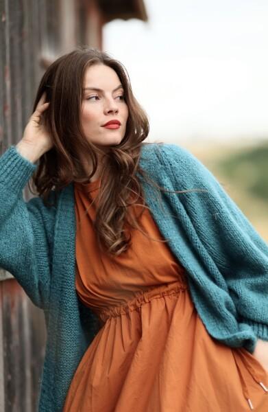 Bilde av Nectar  Clothing - Gea Cardigan - Petrol