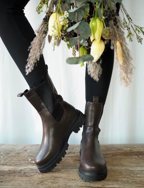 Bilde av Shoe Biz - Prima Boots - Brown