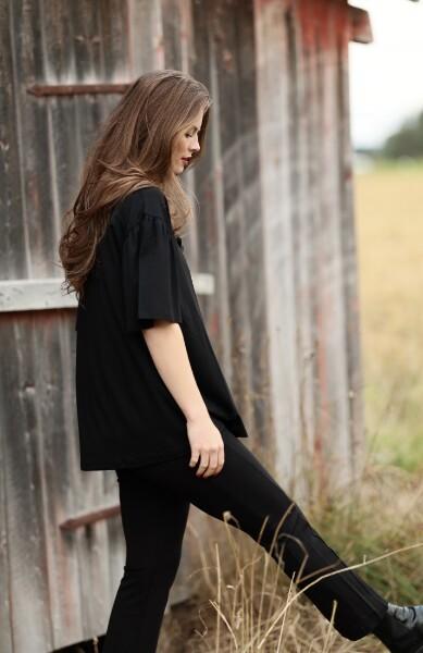 Bilde av Masai - Baja Loose Shirt - Black