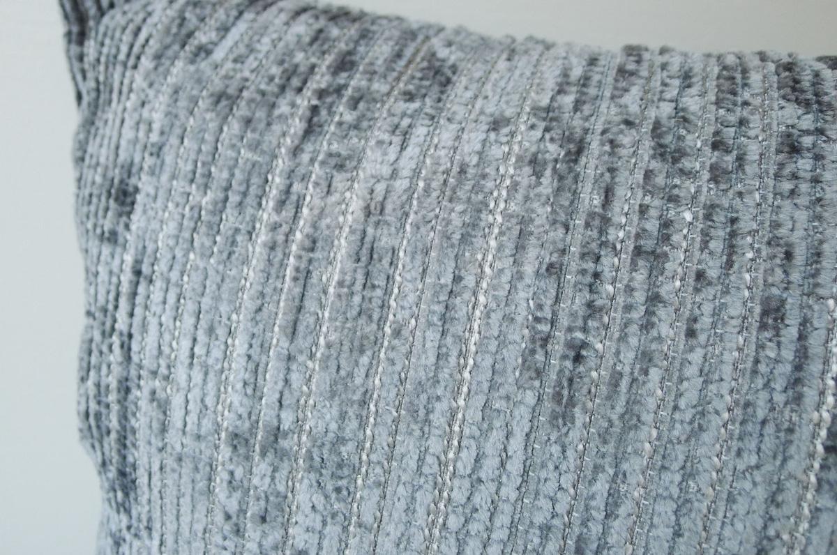 Pute, grå, 44x44 cm