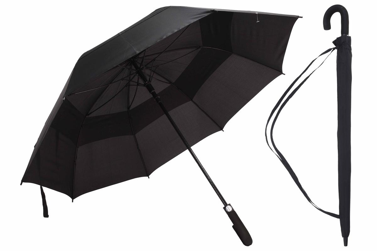 Paraply, 75 cm, sort