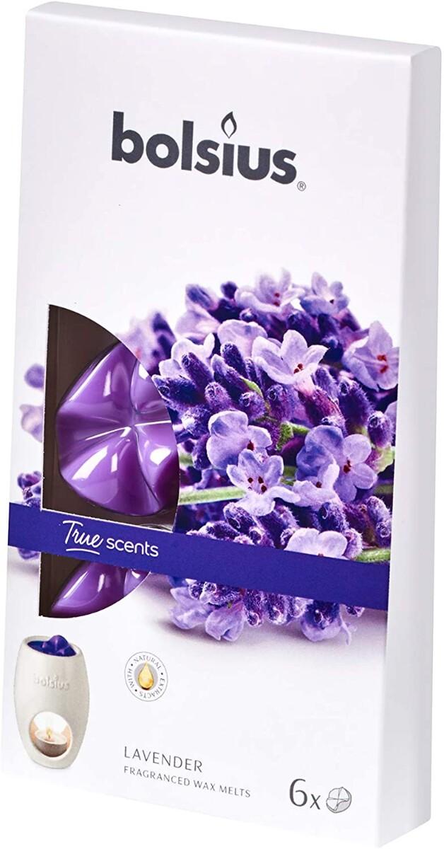 Duftvoks, 6 pk, Lavendel
