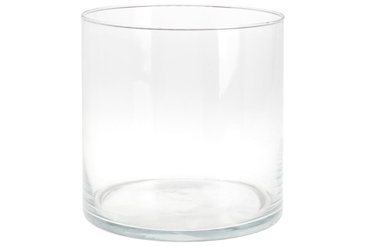 Glassvase, 20x20 cm