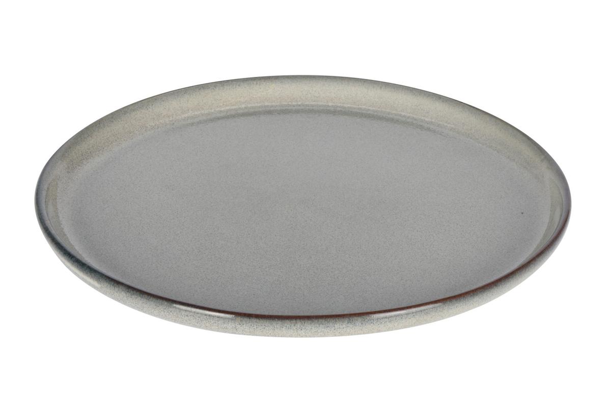 Tallerken, steintøy, 22 cm