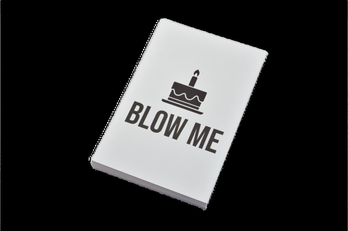 Blow me   10x15 cm