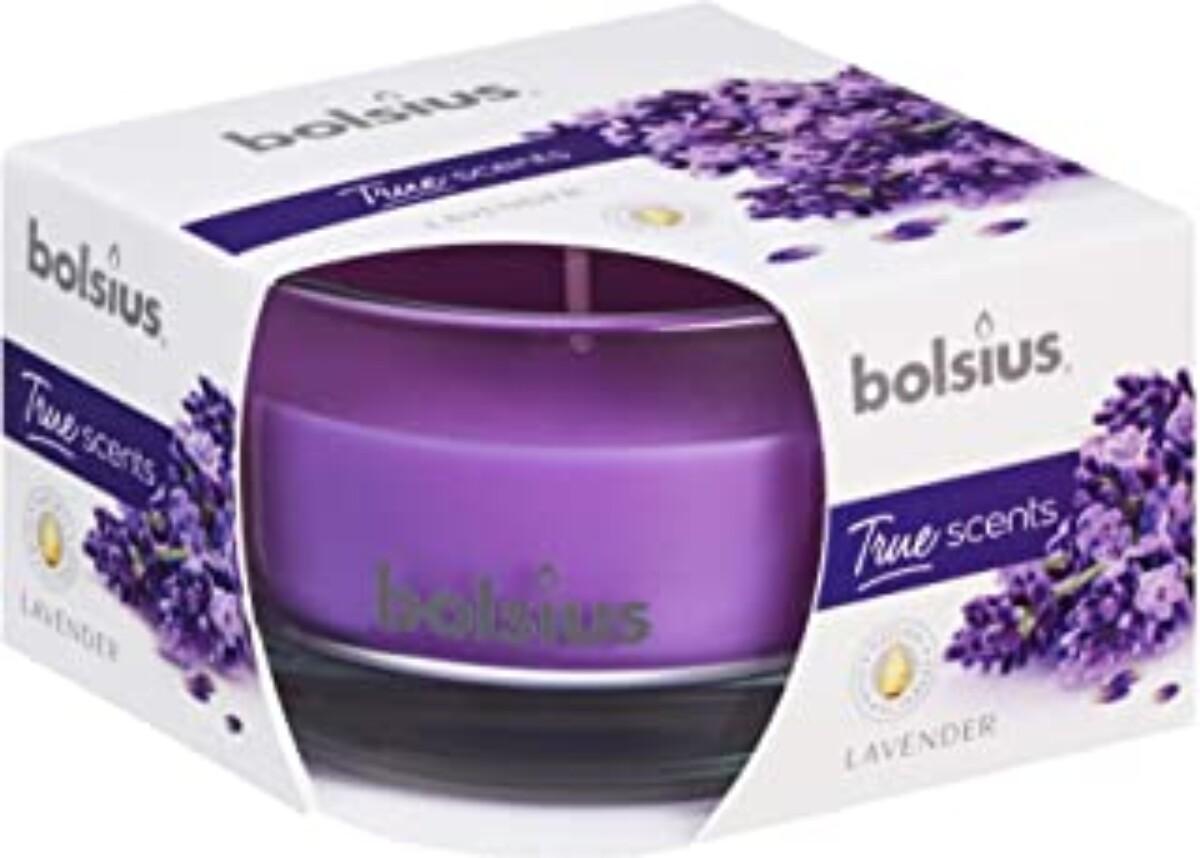 Duftelys i glass - Lavendel