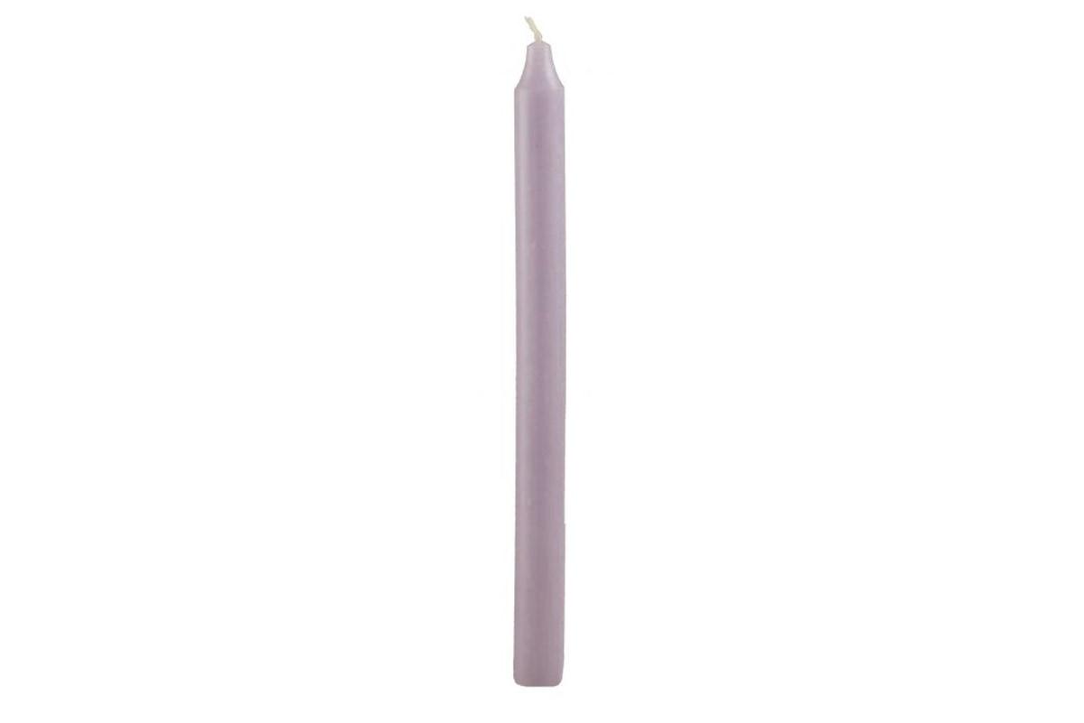 Rustikk stearinlys, 30 cm, Lyng