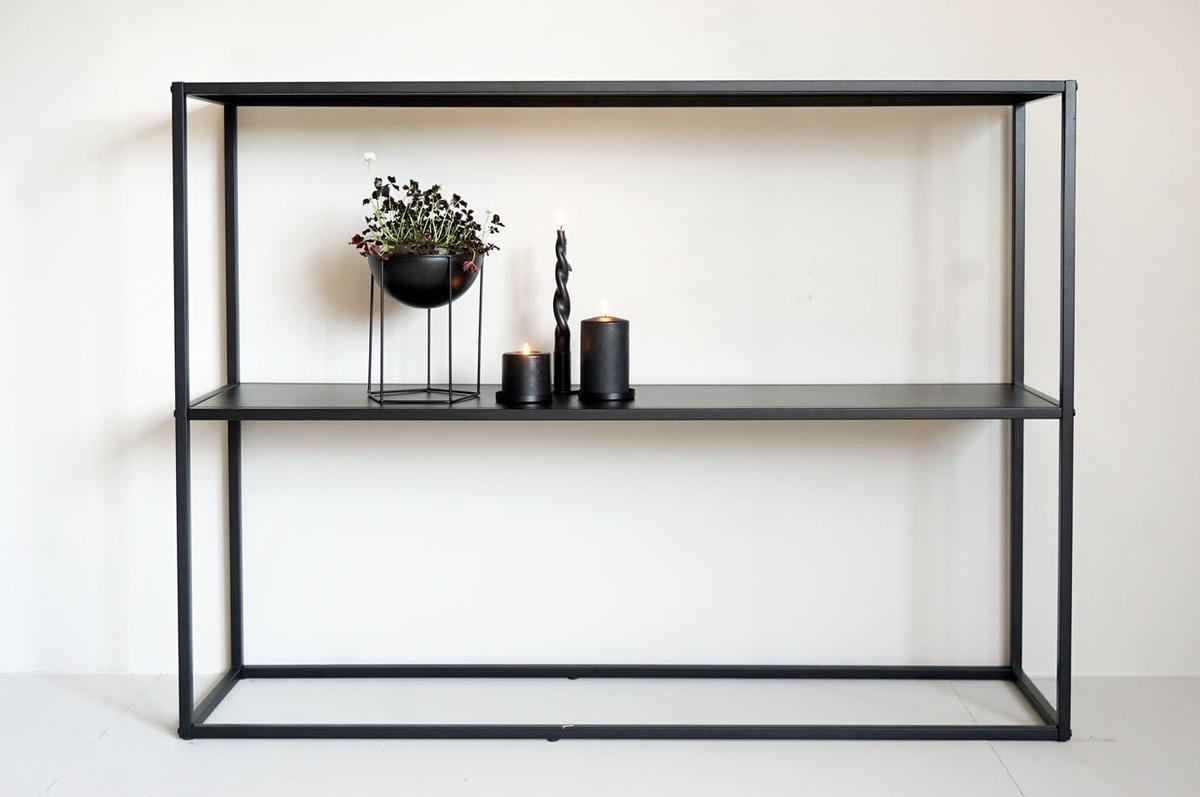 Metallhylle, 120x30x90 cm
