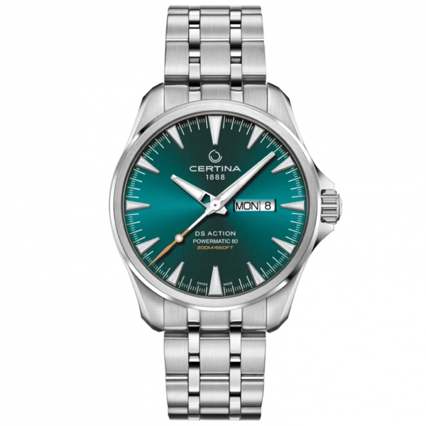 CERTINA DS ACTION DAY-DATE GREEN C032.430.11.091.00
