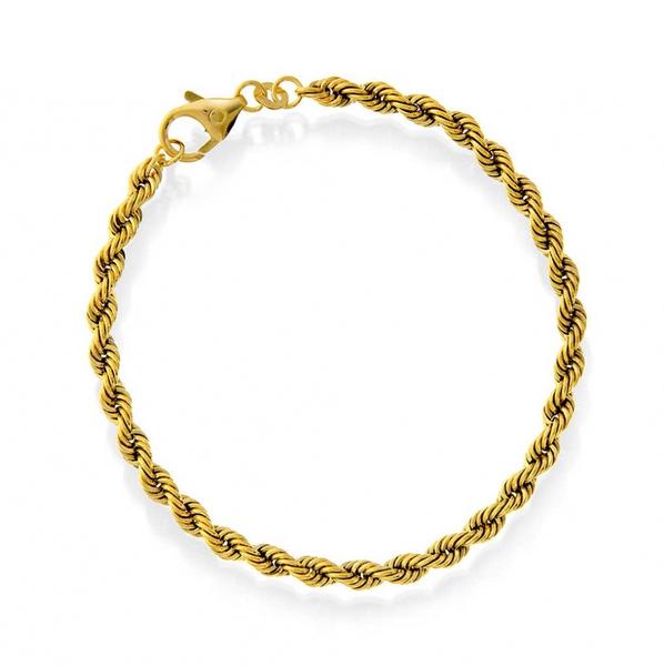 Cordel armbånd i 585 gull 3,8 mm 18 cm- 2896407.18