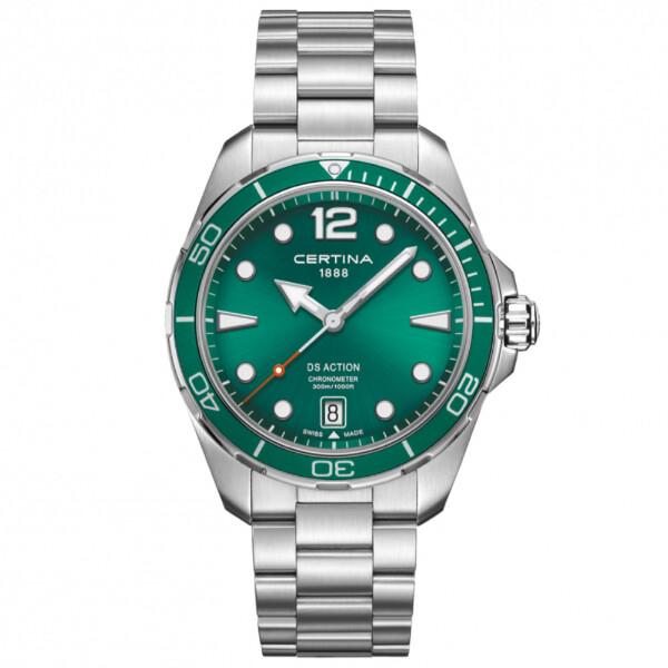 Certina - DS - Action - 43mm - 300m - grønn - C032451109700